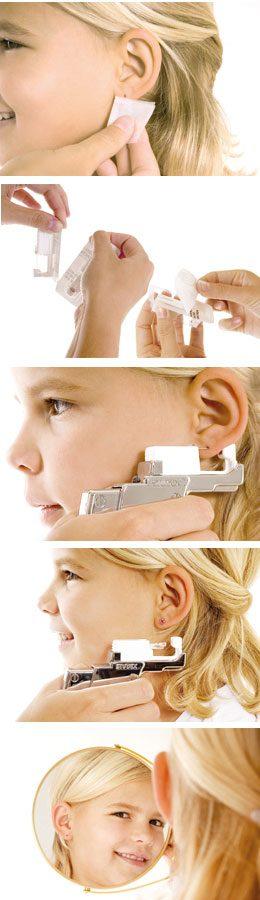 Enlever boucle d'oreille de percage
